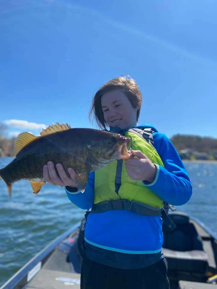 Great Day on Vermont Waters Fishing 9