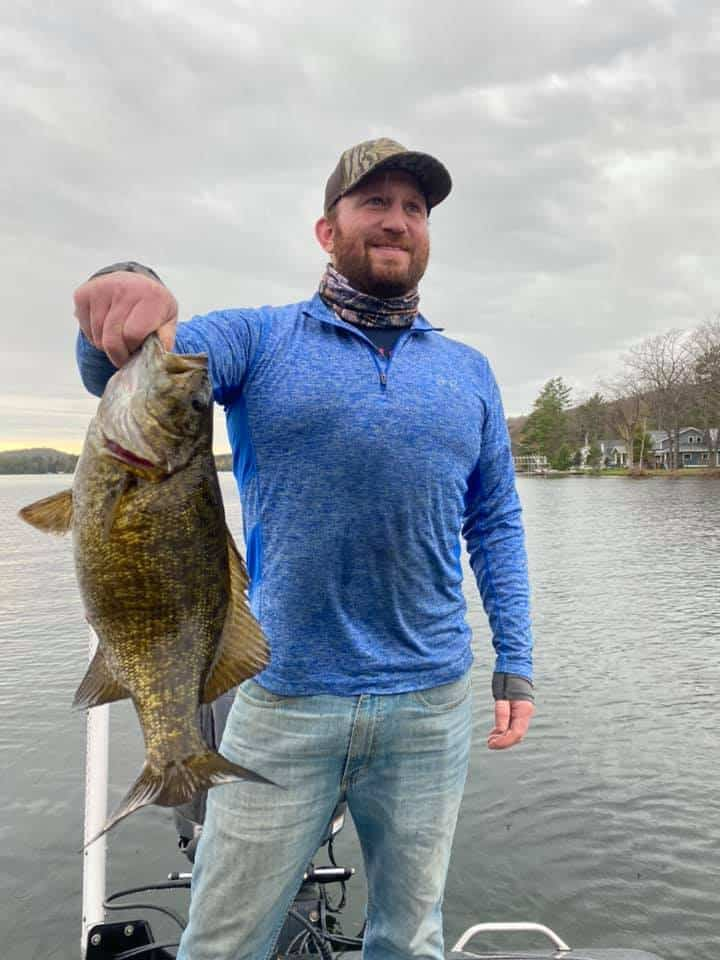 Experienced Anglers In Vermont Crush Smallmouth Bass! 4