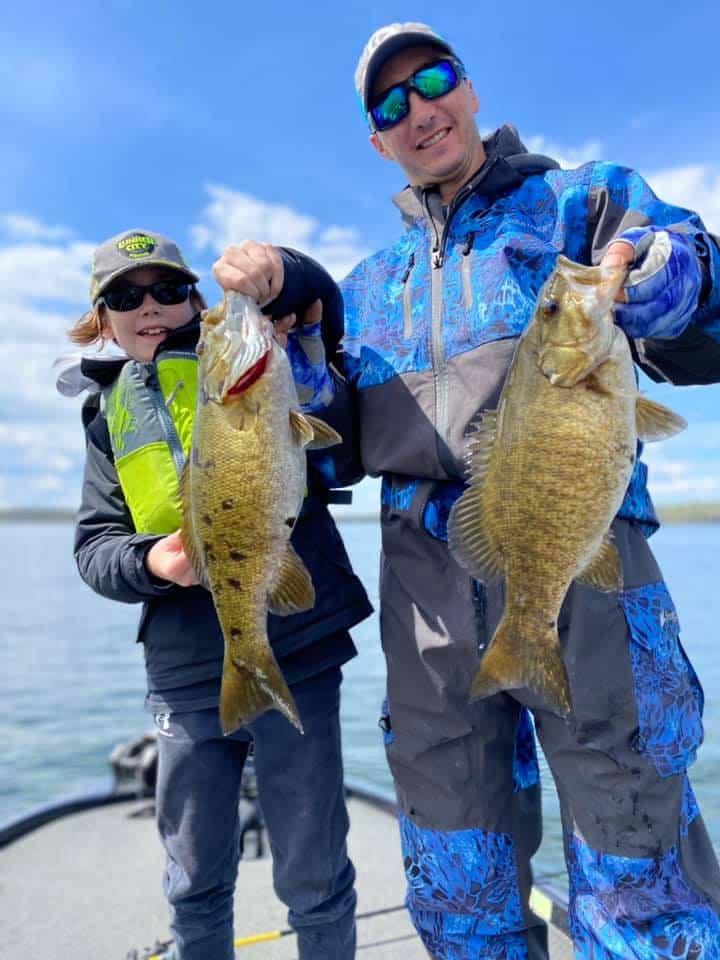 Fishing Fun on The Water in Early May 1