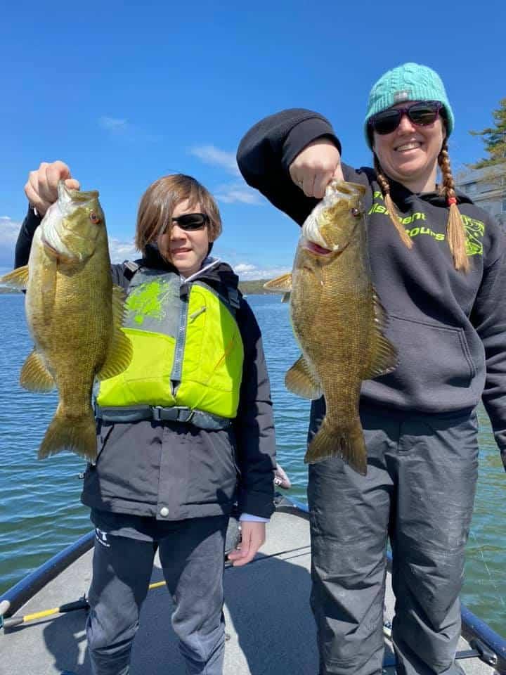 Fishing Fun on The Water in Early May 16