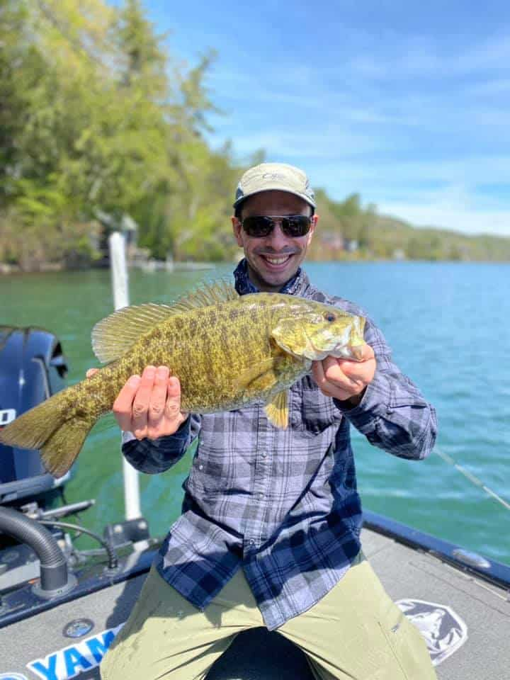 Crushing The Smallmouth Bass In VT 7