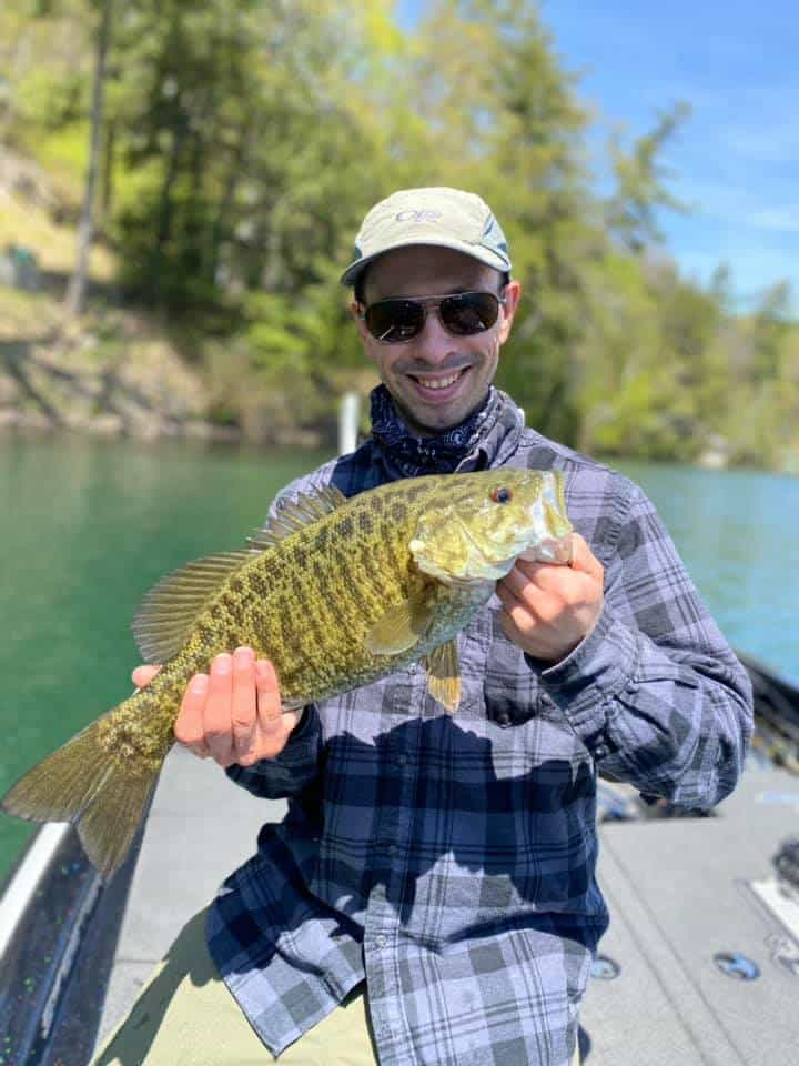 Crushing The Smallmouth Bass In VT 10