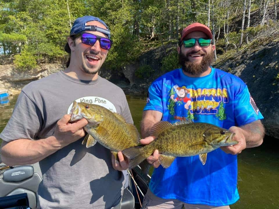 Cogswell Brothers Clean Up Fishing in Vermont 6
