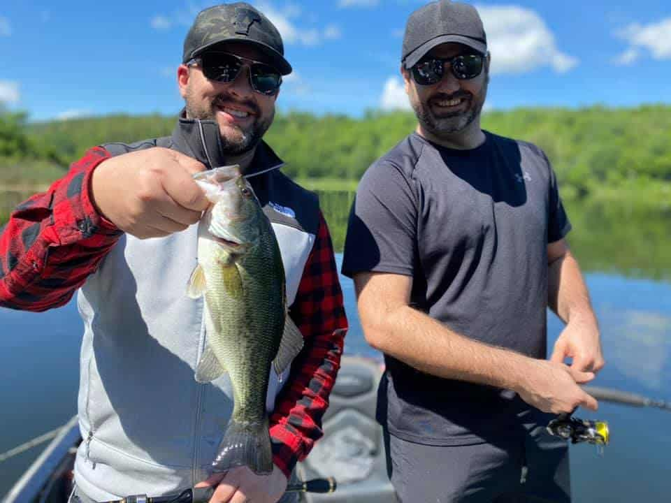 These Guys Crushed Vermont Bass Fishing Today 5