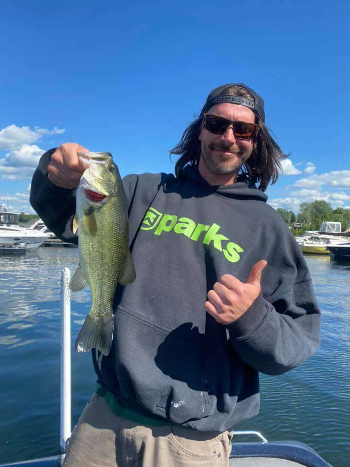 Vermont Monster Fish on a Windy Day 3