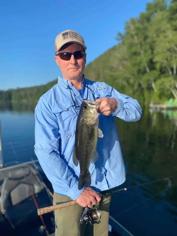 Hot Day VT Bass Fishing 2