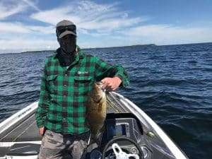 July Update: Fishing For SmallMouth Bass as a Vermont Fishing Guide 2