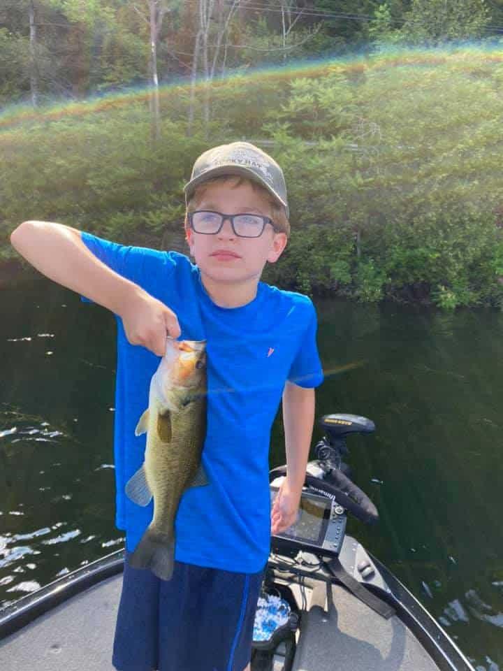 Lake Bomoseen VT Fishing: Happy Faces 2