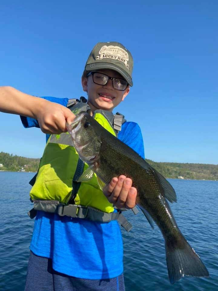 Lake Bomoseen VT Fishing: Happy Faces 5