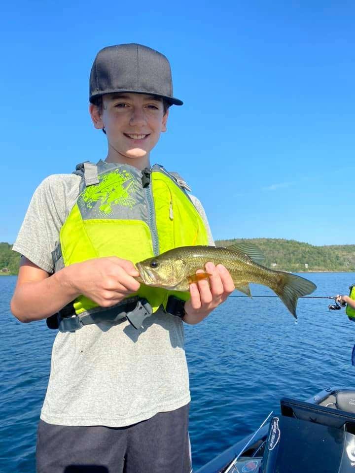 Lake Bomoseen VT Fishing: Happy Faces 6
