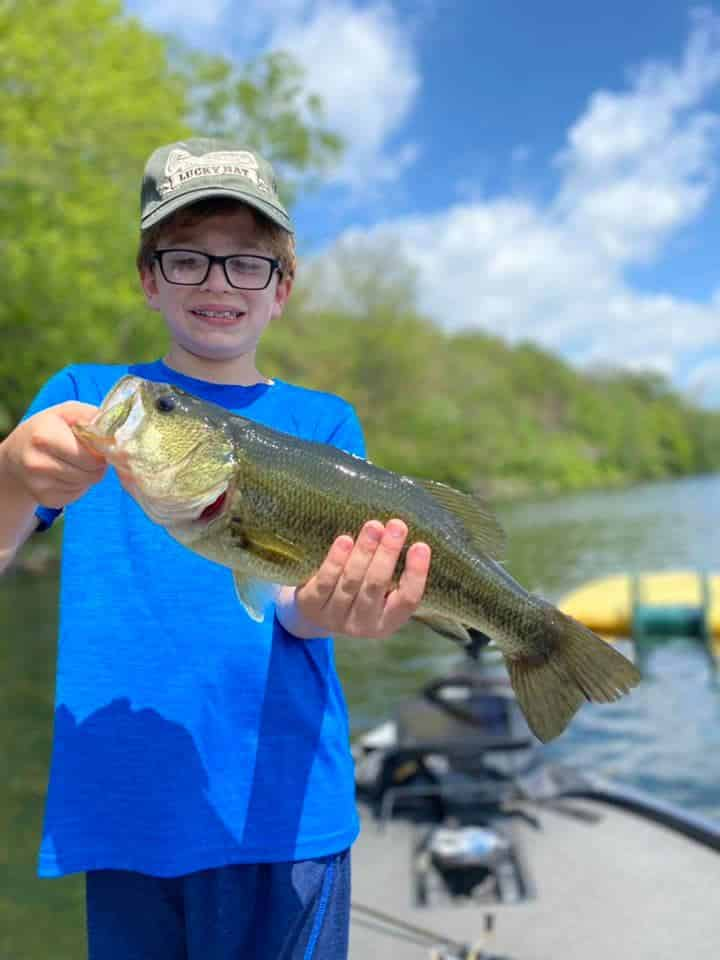 Lake Bomoseen VT Fishing: Happy Faces 7