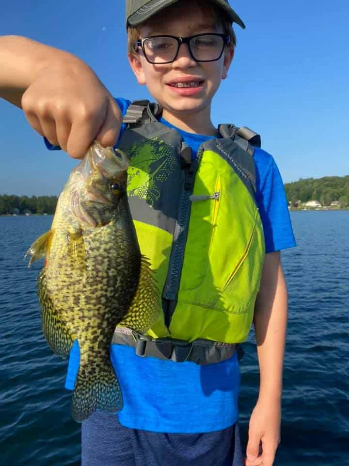 Lake Bomoseen VT Fishing: Happy Faces 8