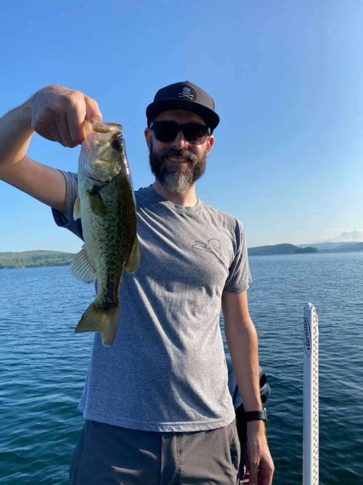 Lake Bomoseen VT Fishing: Happy Faces 9