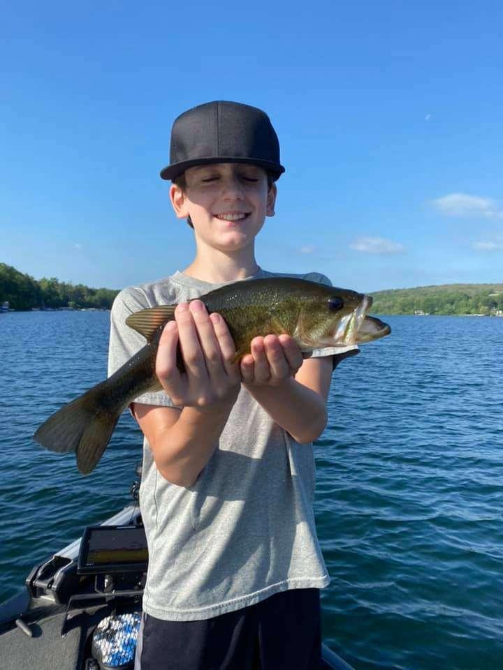 Lake Bomoseen VT Fishing: Happy Faces 10