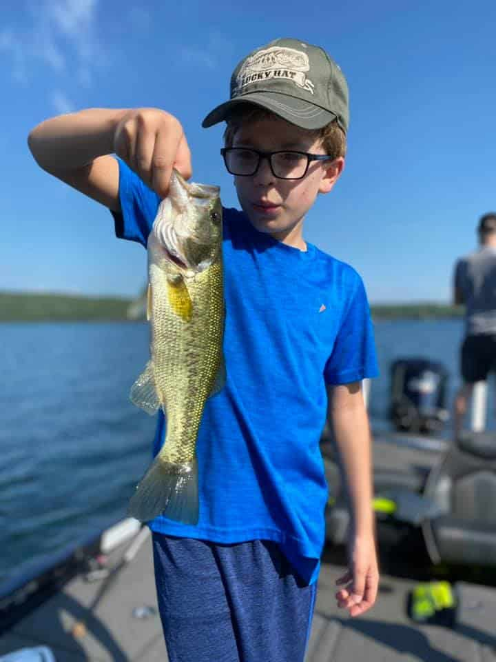 Lake Bomoseen VT Fishing: Happy Faces 1