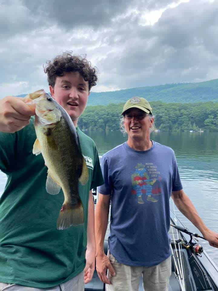 Cyrus Caught A Personal Best VT Fishing 4