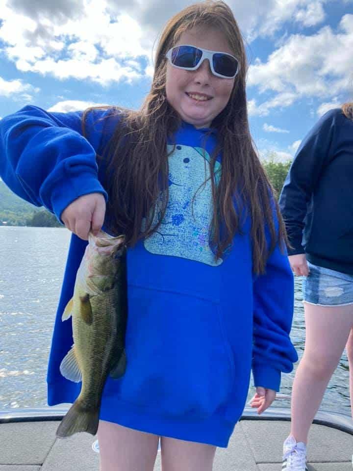 Bass Fishing Lake Dunmore, Vermont 3