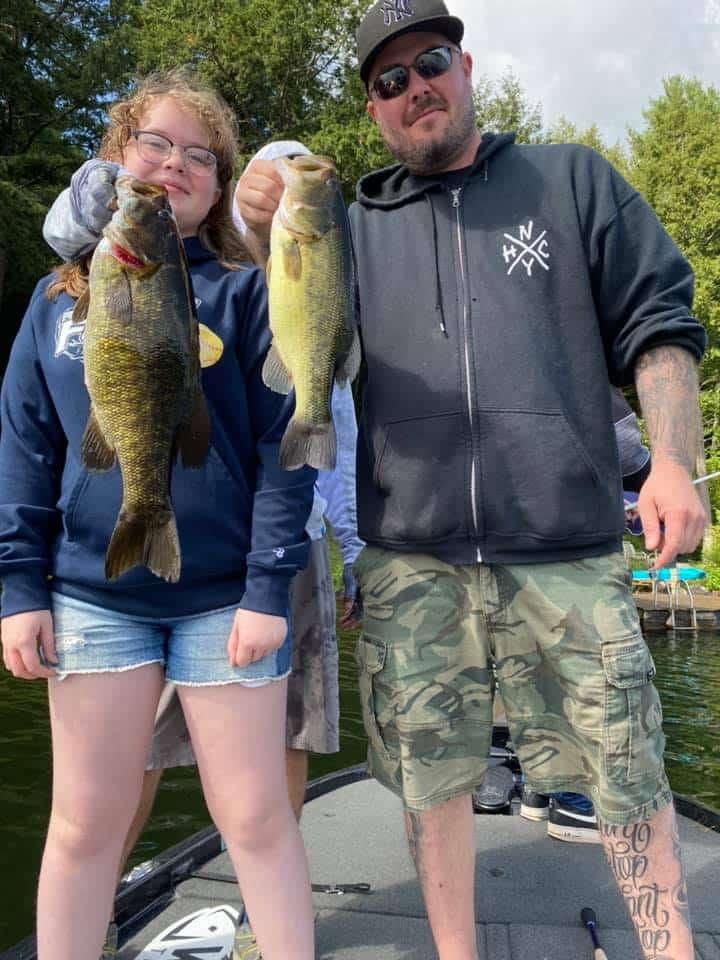 Bass Fishing Lake Dunmore, Vermont 6