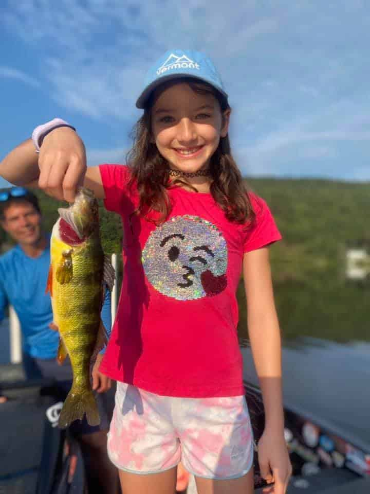 Nine Year Old Catches a Ton of Fish 2