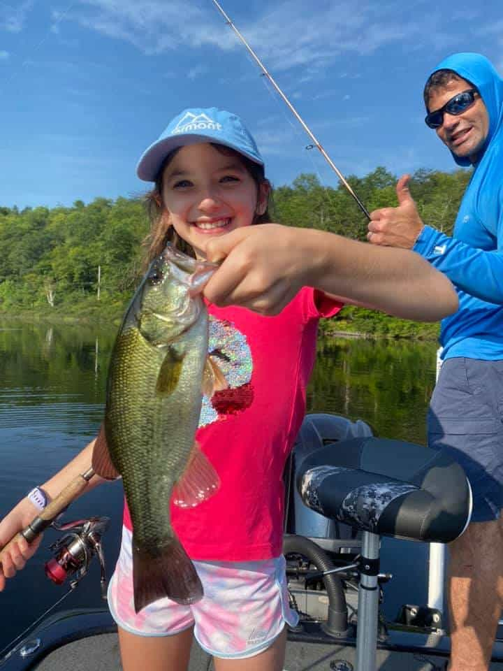 Nine Year Old Catches a Ton of Fish 3