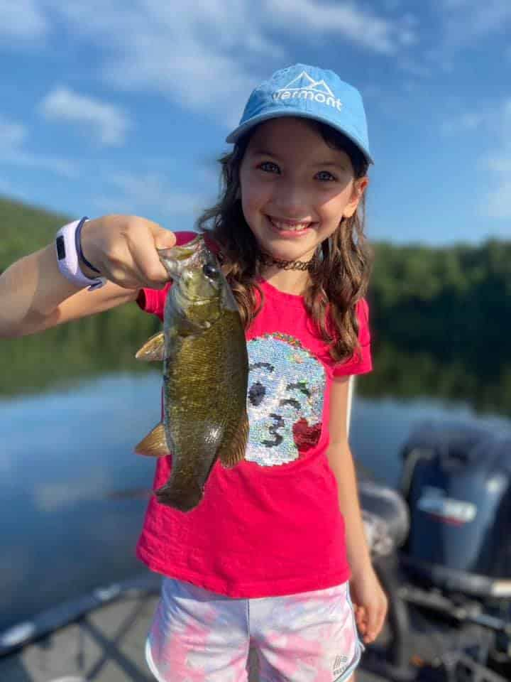 Nine Year Old Catches a Ton of Fish 5