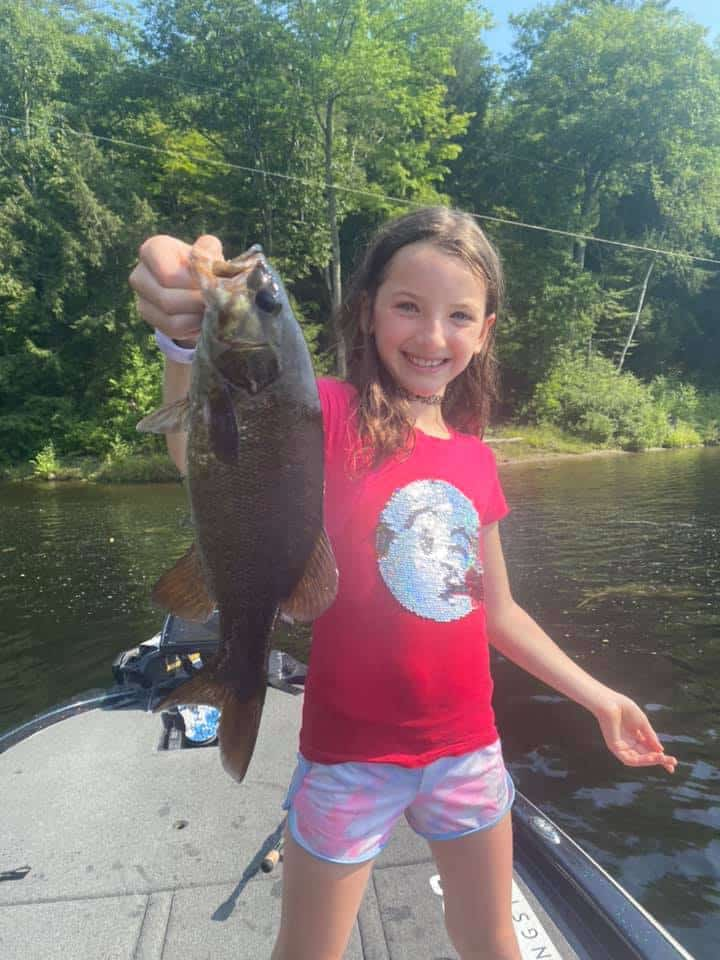 Nine Year Old Catches a Ton of Fish 7