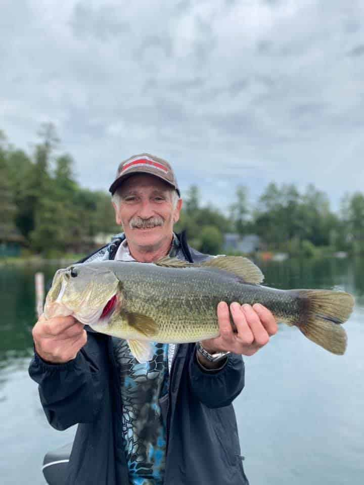 Pops and I Found Monster VT Bass Fish 3