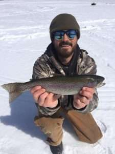 March 19, 2019: Awesome ice fishing day. 14