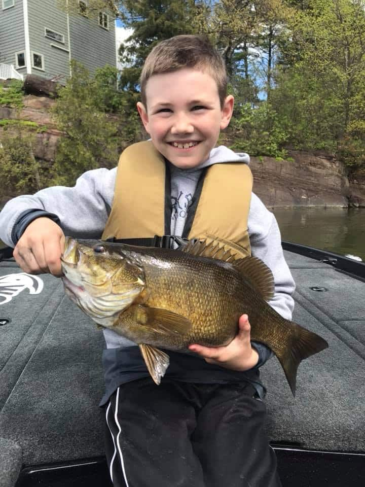 4 Hour Trip and We Crushed The Smallmouth Bass 1
