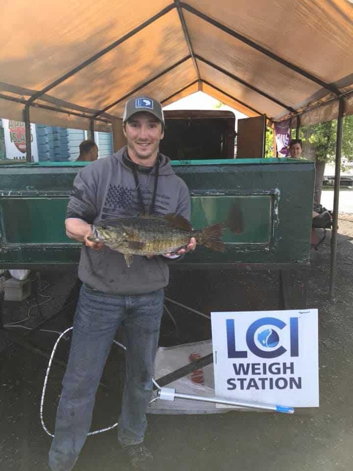 2019 LCI Smallmouth Bass Tournament 4.5lbs 2