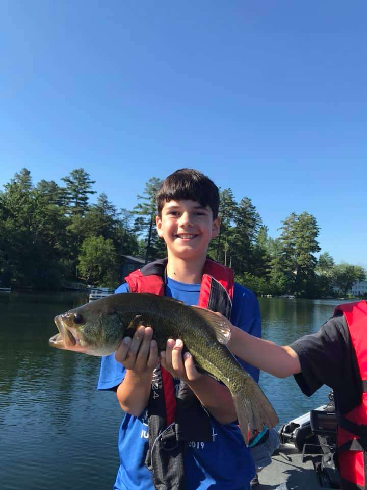 July 1, 2019: Another Great Day Fishing in VT 8