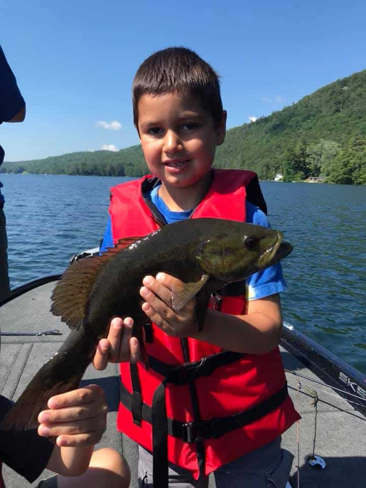 July 1, 2019: Another Great Day Fishing in VT 11