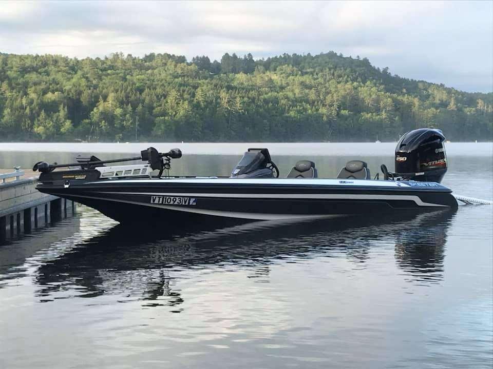 Fishing Lake Fairlee Vermont 1