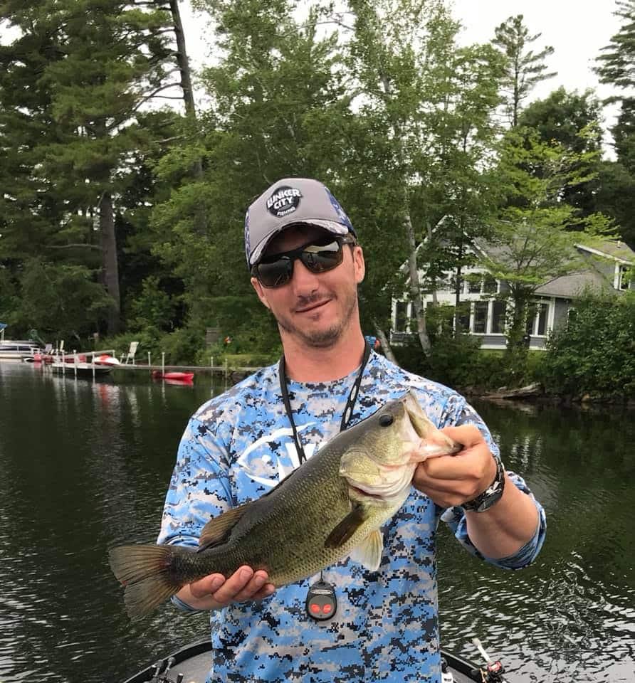 Fishing Lake Fairlee Vermont 2