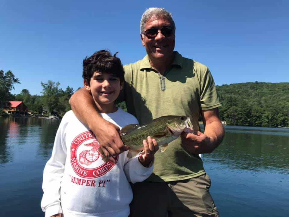 VT Fishing: Lake Morey, Monster Catch Smallmouth Bass 5