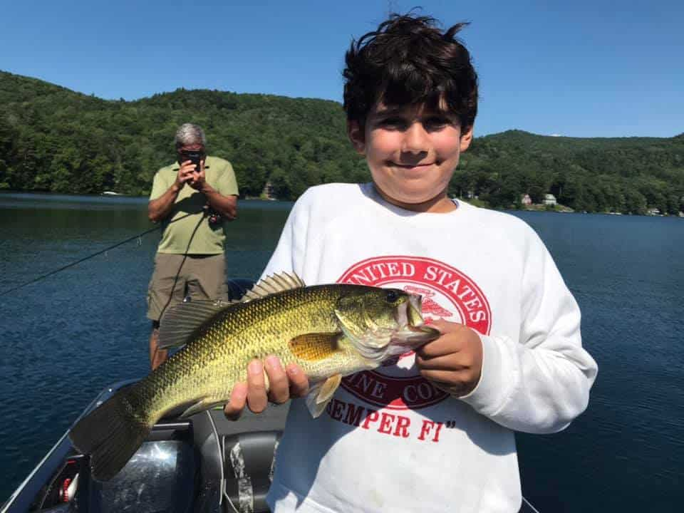VT Fishing: Lake Morey, Monster Catch Smallmouth Bass 1