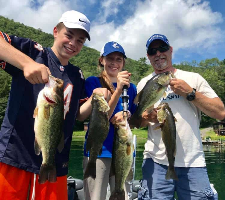 Aug 18: Family Crushed Fishing Trip Today! 1