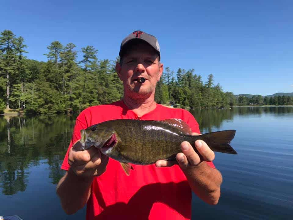 Aug 20: Fished Lake Fairlee, Vermont With Pennsylvania Group 3