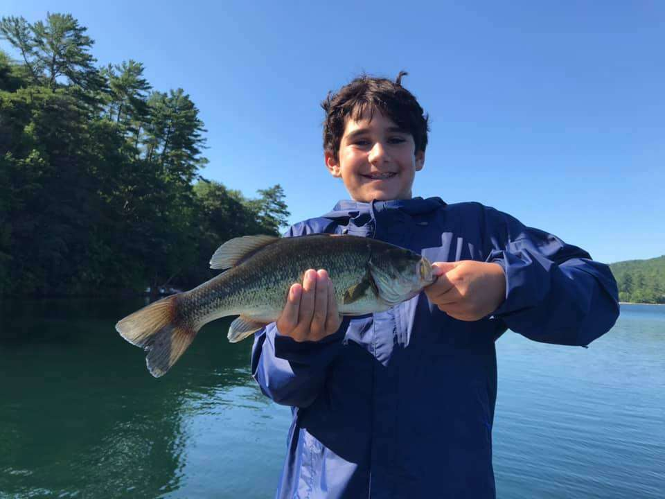 VT Fishing: Lake Morey, Monster Catch Smallmouth Bass 11