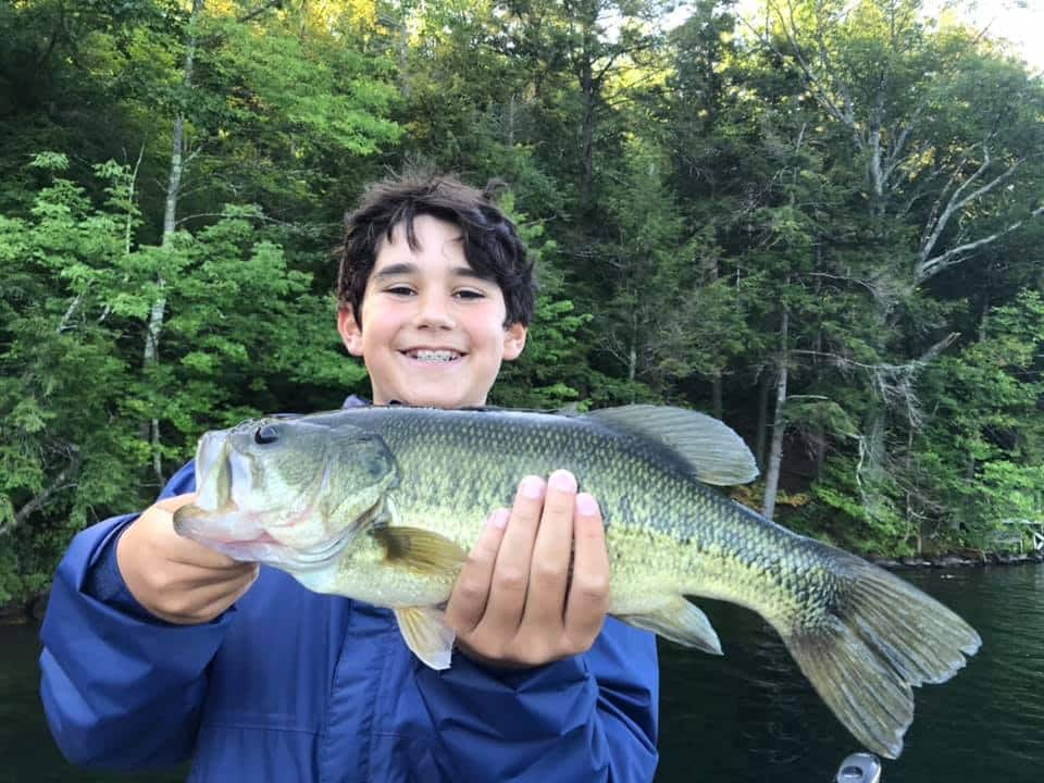 VT Fishing: Lake Morey, Monster Catch Smallmouth Bass 12