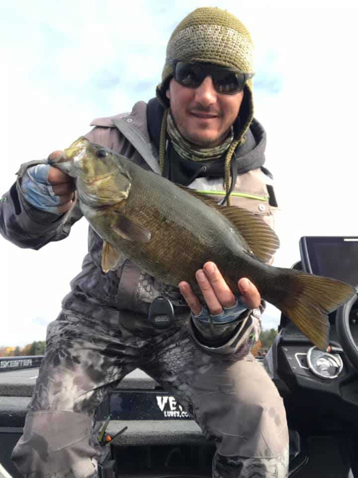 Boated 40 Fish on Vermont Waters Fishing For Bass 5