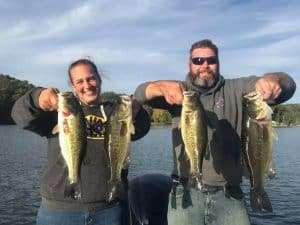 Fishing Lake Morey, Vermont. 6