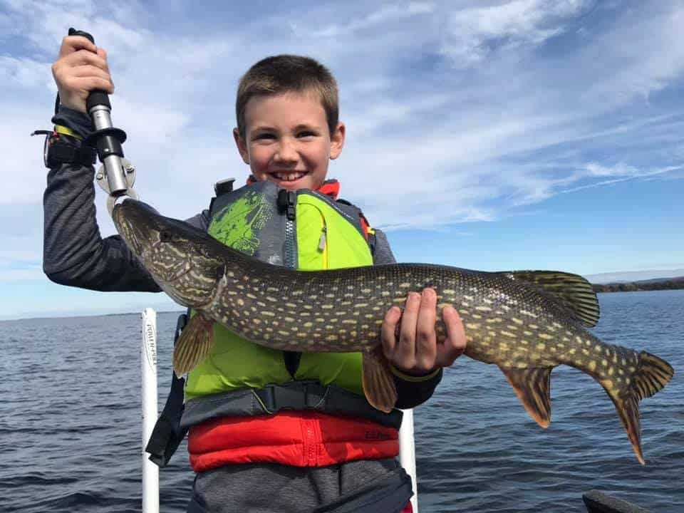 Mason Fishing For Vermont Pike 2