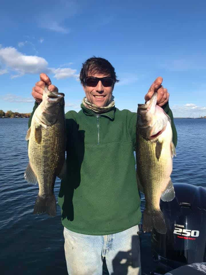 Oct 15: Pete Boated Over 20 Bass in VT Today! 2