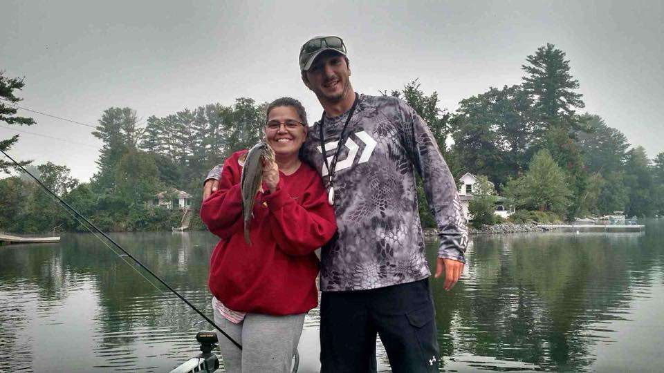VT Fishing Guide | Anniversary Fishing on Lake Fairlee with Jason and Michele 11