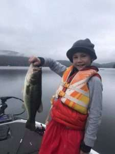Last VT Fishing Trip For The Season, Mason Caught A Huge Fish! 28