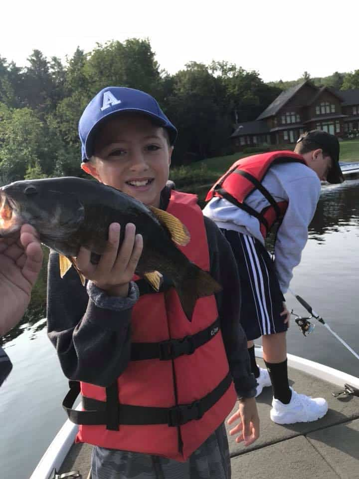August 21, 2018 - VT Fishing Guide | Family Fishing Trip Ended With Smiling Faces and Tons Fish 15